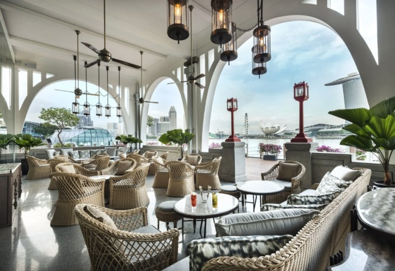 family staycation singapore The Fullerton Bay Hotel Singapore