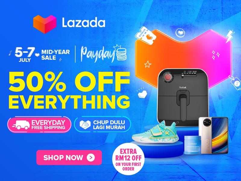 Lazada Mid-Year Sale