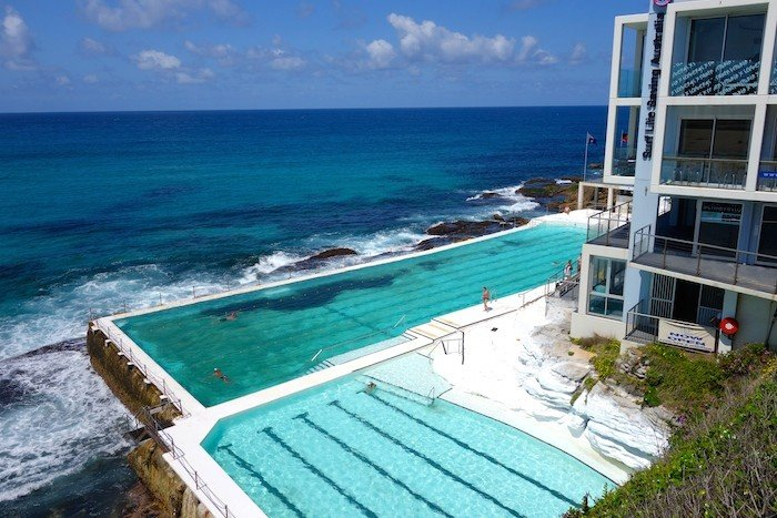 Bondi Beach Iceberg Terrace's ocean pool