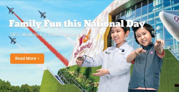 Family Fun at SGD51 with KidZania Singapore's National Day Promotion