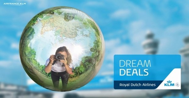 KLM Royal Dutch Airlines' Dream Deals for Flights to Europe and America