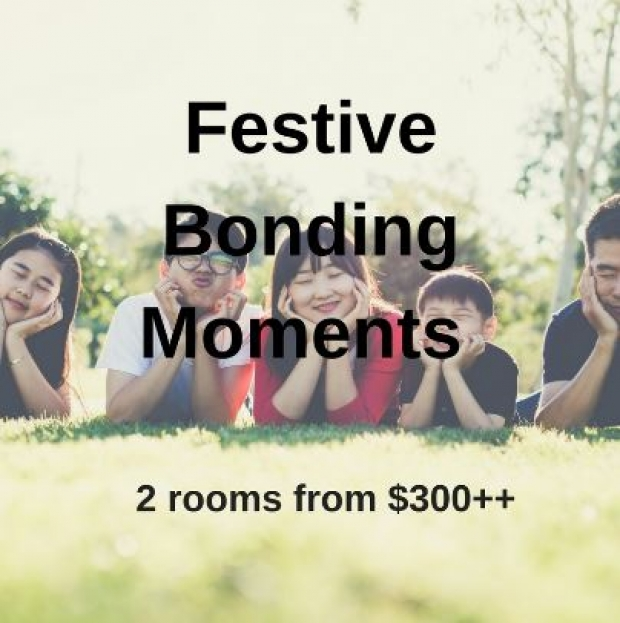 Festive Bonding Moments in Bay Hotel Singapore with 2 Rooms from SGD300