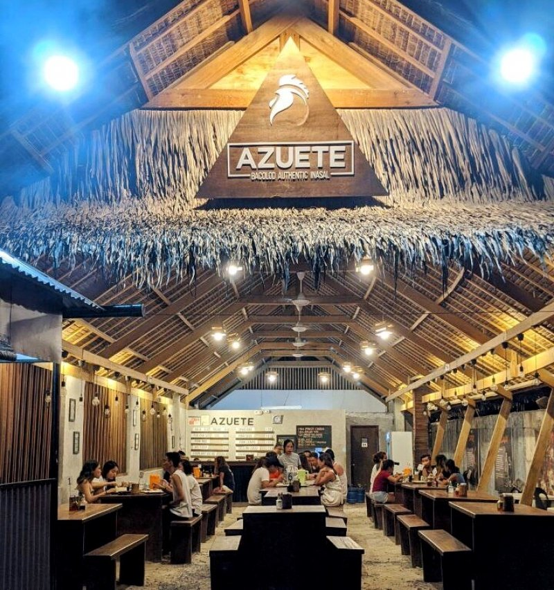 where to eat in siargao: azuete