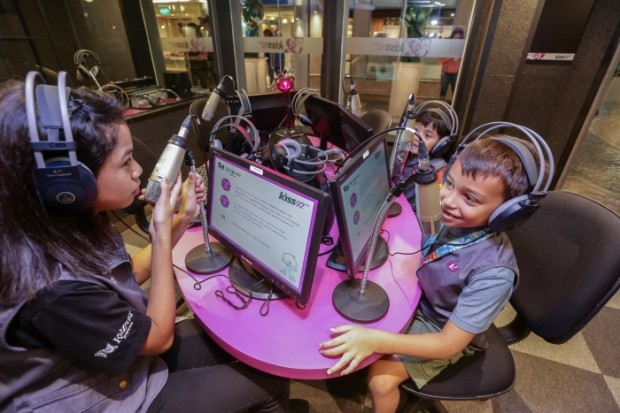 Be a DJ for a Day and WIN Tickets to KidZania Singapore