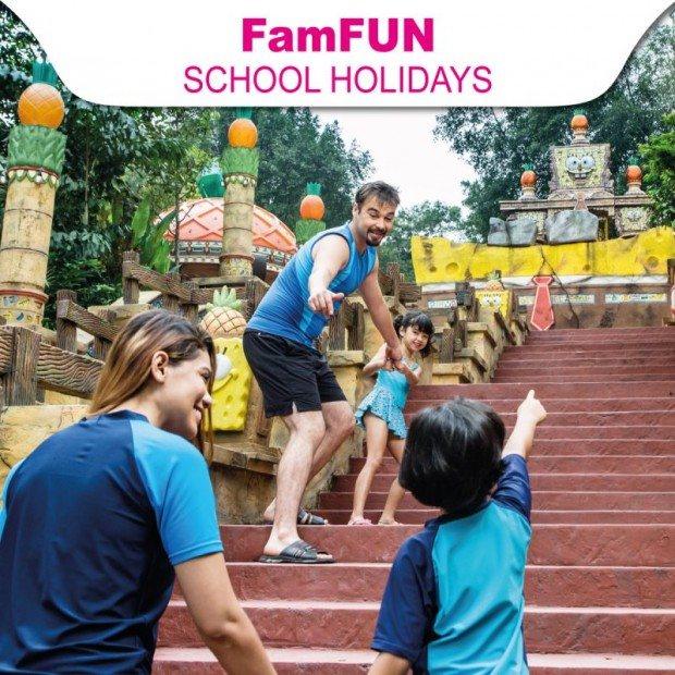 School Holiday FamFun at RM390 in Sunway Lagoon