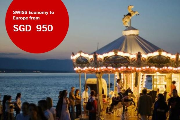Economy Class Flight Deals to Europe with Swiss Airlines