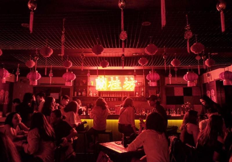nightlife in manila: lan kwai