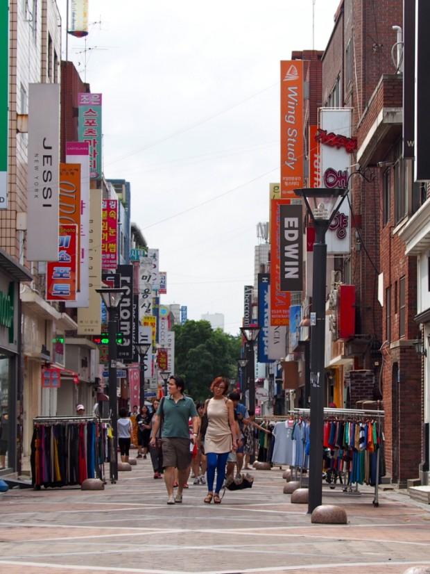 Mua sắm ở Seoul