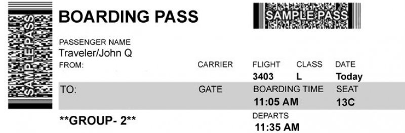 Why You Should Never Post Photos Of Your Boarding Pass On Social Media