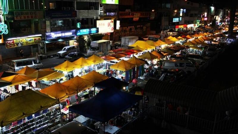 Chơi gì Ở Kuala Lumpur chợ đêm
