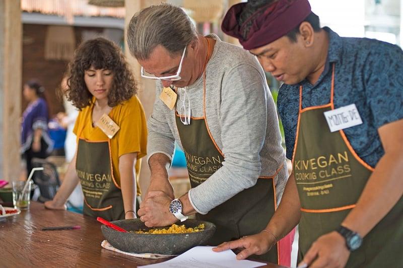 Kin Vegan Cooking Class