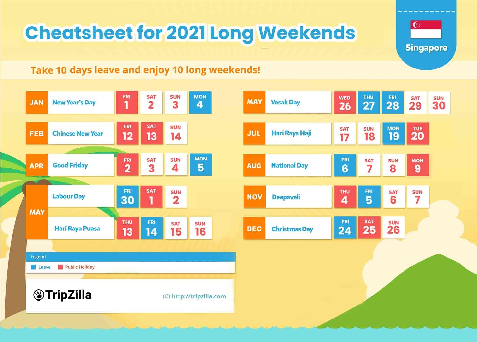 long weekends singapore 2021 cheatsheet