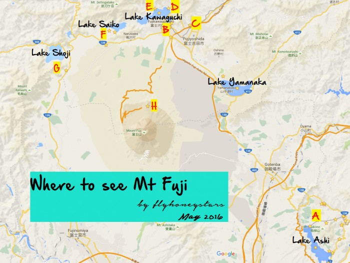8 Places for Great Views of Mount Fuji