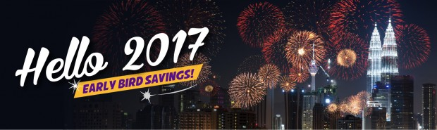 Say Hello to 2017 with Early Bird Savings on Malindo Air