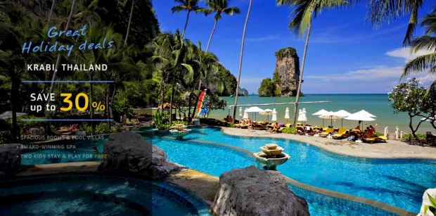 Great Holiday Deal with 30% Off on your Stay in Centara Hotels in Krabi