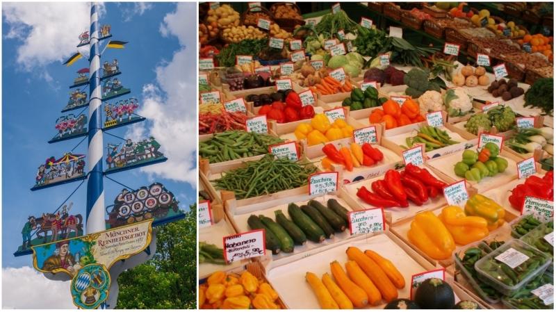 Viktualienmarkt (Chợ nông sản)