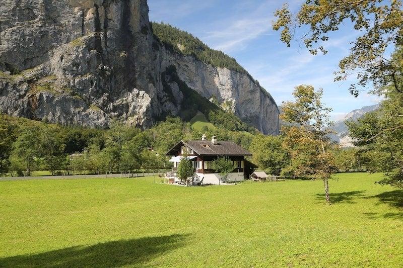 Best Airbnb in Lauterbrunnen, Switzerland: Near Trummelbach Falls
