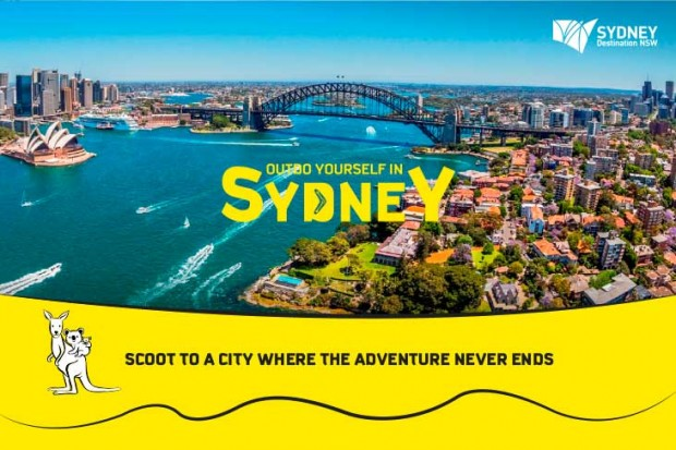 Scoot to Sydney and Enjoy 15% Off with Promo Code 'NATAS15'
