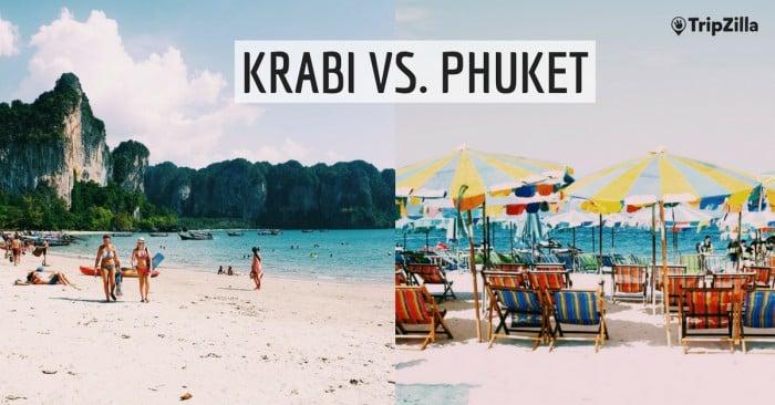 Krabi Vs Phuket Which Is Thailand S Better Beach