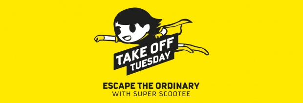 Escape the Ordinary and Scoot from SGD35 this Tuesday from 7am-2pm
