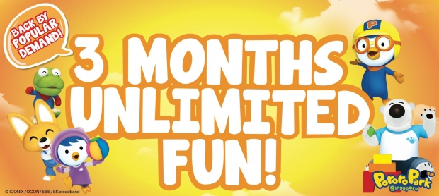 Back by Popular Demand. 3 Month Unlimited Fun in Pororo Park Singapore