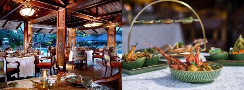 Nusa Dua Beach Hotel & Spa Raja's Balinese Cuisine