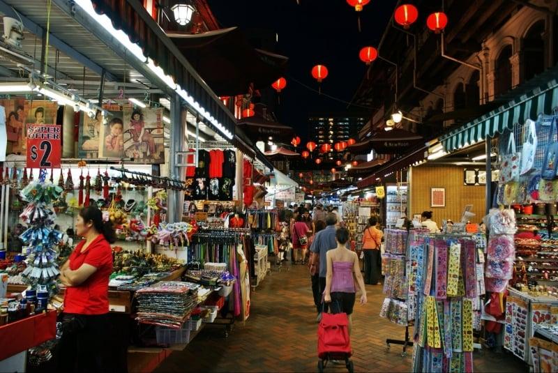 singapore shopping spots