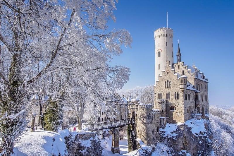 German castles: Lichtenstein Castle