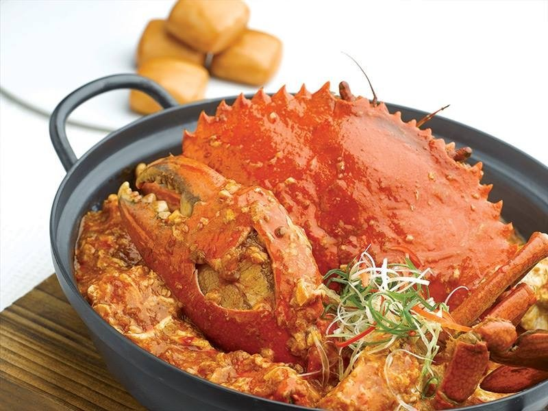 best singaporean food chilli crab