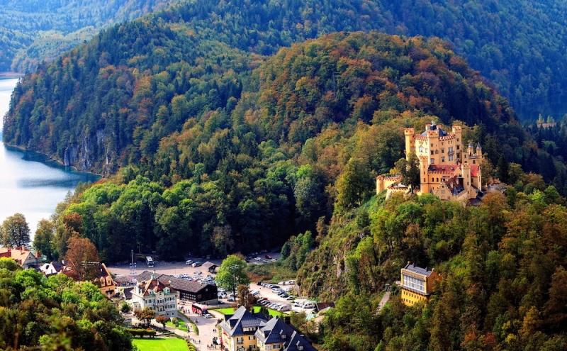 German castles: Hohenschwangau Castle