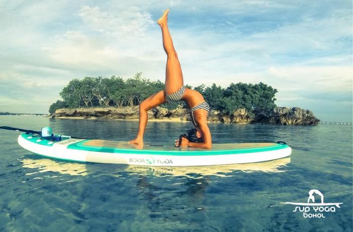 SUP Yoga Bohol