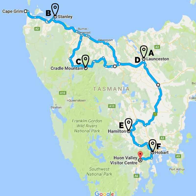 OneWeek Itinerary for an Unforgettable Tasmanian Road Trip