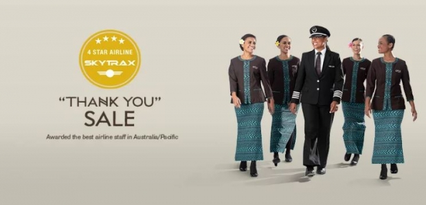 Thank You Sale in Fiji Airways: Save up to SGD522 When you Book your Flight