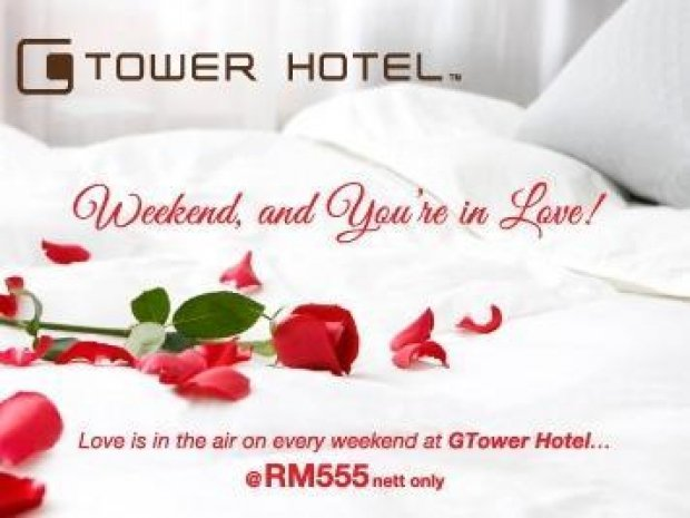 Romantic Weekend Package at G Tower Hotel Kuala Lumpur