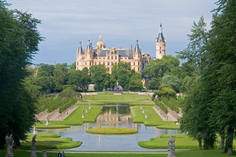 German castles: Schwerin Castle