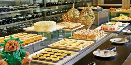 Dessert Buffet with D24 Durian Pastries