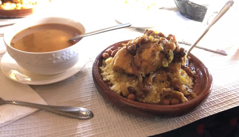Moroccan Chicken with Couscous