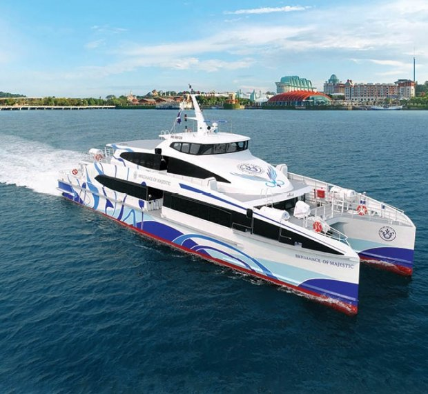 SGD 38 Round Trip Tickets in Majestic Fast Ferry for DBS Cardholders