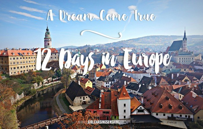 Europe Dream Trip 12 Days