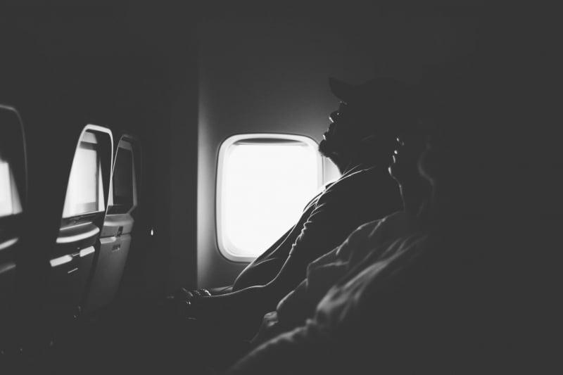 sleep long flight