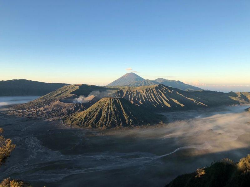 Mount Bromo from King Kong Hill
