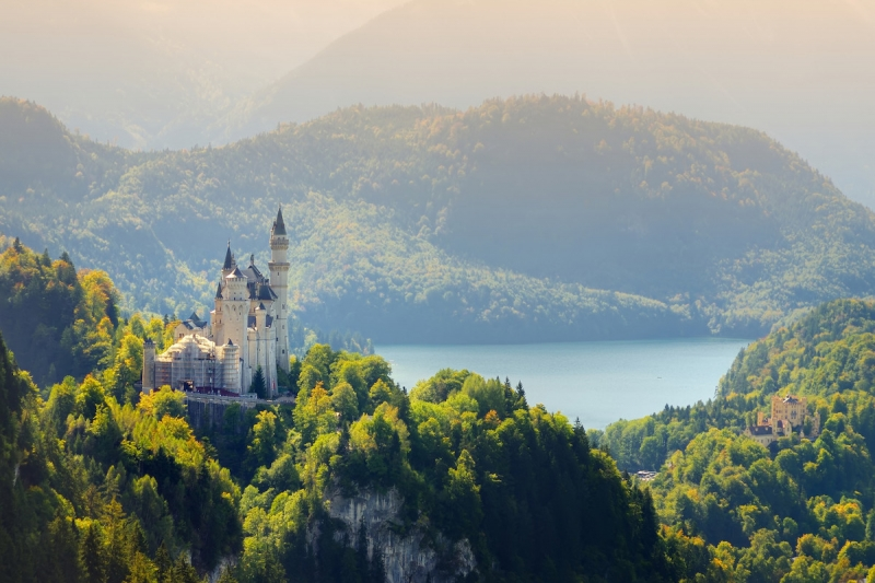 German castles: Neuschwanstein Castle