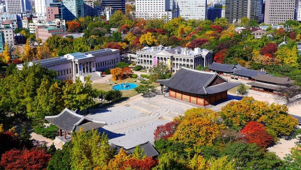 Deoksogung Palace in Autumn