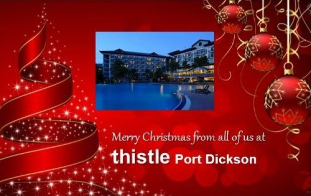 Celebrate Christmas at Thistle Port Dickson Resort from RM688
