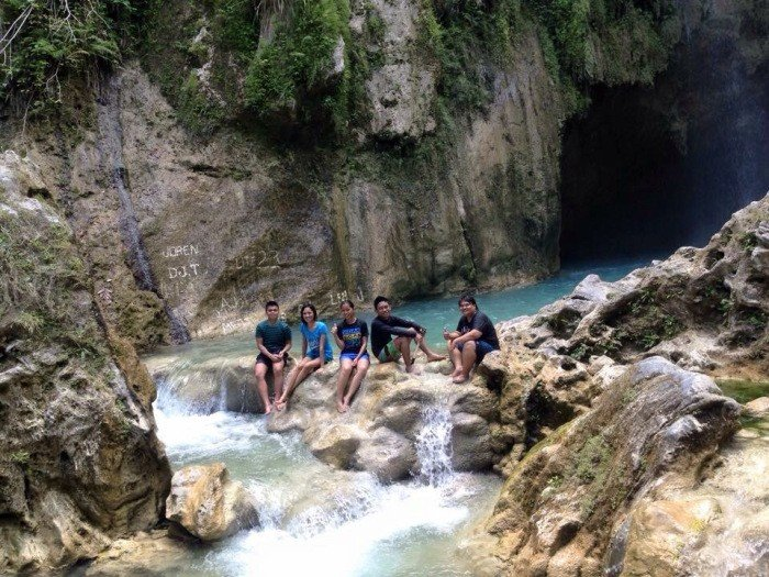 chasing waterfalls ginatilan samboan