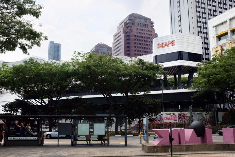 singapore malls scape