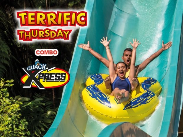 Terrific Thursday COMBO from RM250 for 2 pax in Sunway Lagoon
