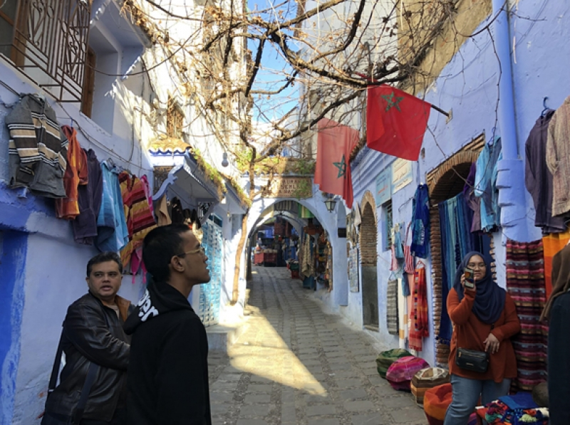 The Blue Pearl, Chefchaouen