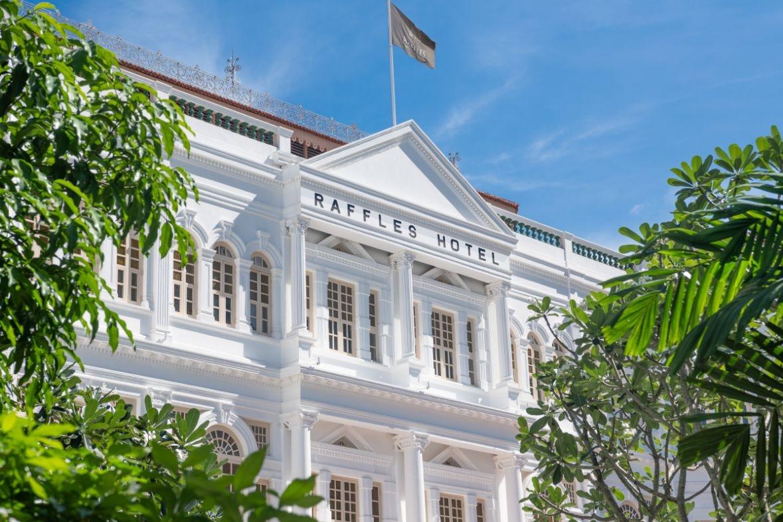 raffles hotel singapore exterior