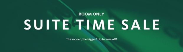 Suite Time Sale with Up to 20% Off Room Rate in Participating Lotte Hotels in Korea